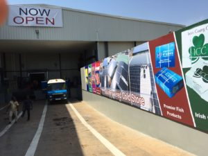 opening-solar-powered-coldstore-in-ghana
