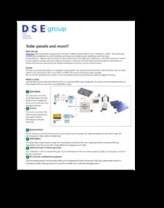 DSE brochure